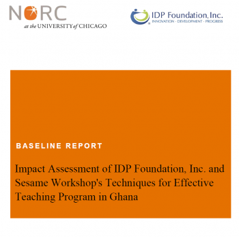 NORC Impact Assessment: Baseline Report
